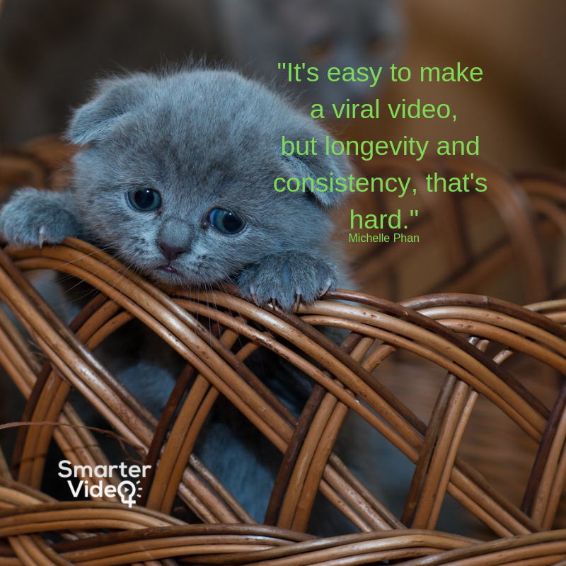 It's easy to make viral video but longevity and consistency thats hard