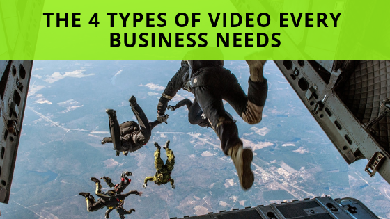 The 4 Types Of Video Every Business Needs