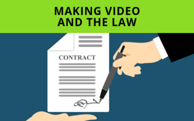 Making Video And The Law